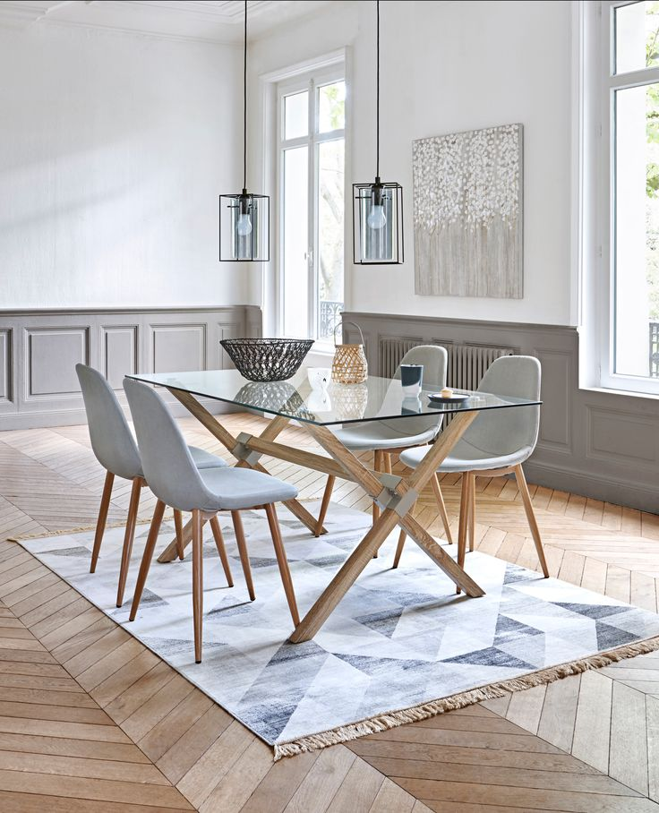 Beautiful idees deco salle a manger contemporary design for Deco cuisine scandinave