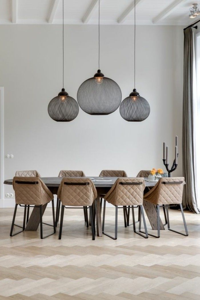 salle manger salle a manger sol en parquet chene massif clair pas cher. Black Bedroom Furniture Sets. Home Design Ideas