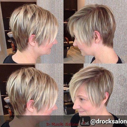 Idées Coupe cheveux Pour Femme 2017 / 2018 - 80 coiffures courtes et simples pour les femmes de ...