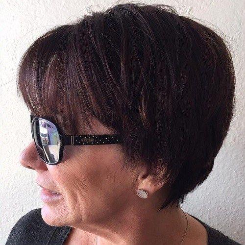 id es coupe cheveux pour femme 2017 2018 80 coiffures courtes et simples pour les femmes de. Black Bedroom Furniture Sets. Home Design Ideas
