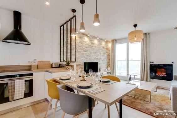 D co salon cuisine ouverte sur salon - Deco salon et cuisine ouverte ...