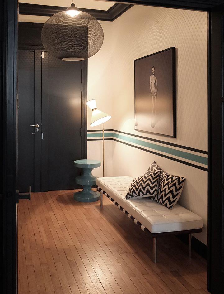 Déco Salon - Nido-Architecte-Une histoire en noir & blanc ...