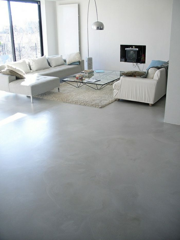 Stunning tapis blanc salon photos amazing house design for Tapis salon blanc et gris