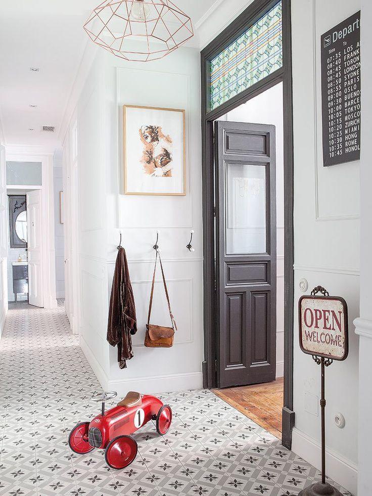 Déco Salon - Un appartement entre vintage et classique - PLANETE ...