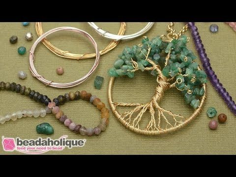 Diy bijoux 2 how to make a wire wrapped tree of life pendant description mozeypictures Image collections