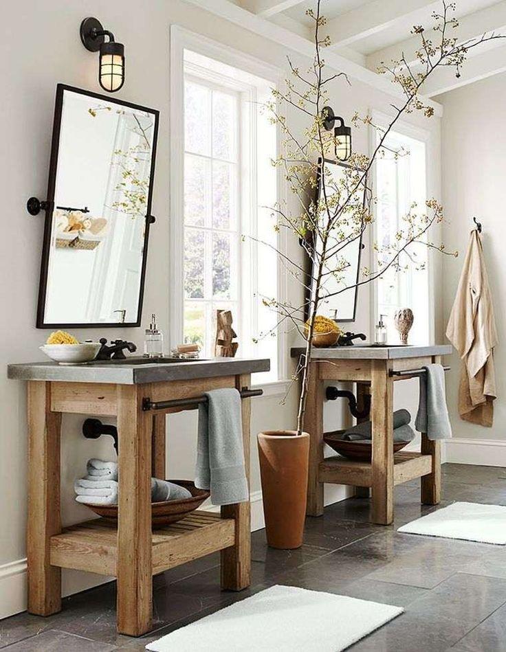 excellent description meuble salle de bains pas cher bois deco diy with diy deco salle de bain