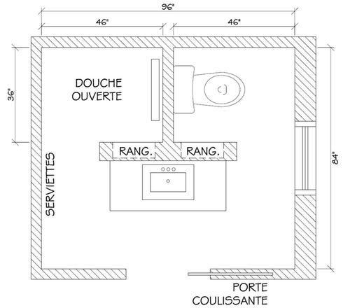 id e d coration salle de bain petite salle de bain 9. Black Bedroom Furniture Sets. Home Design Ideas