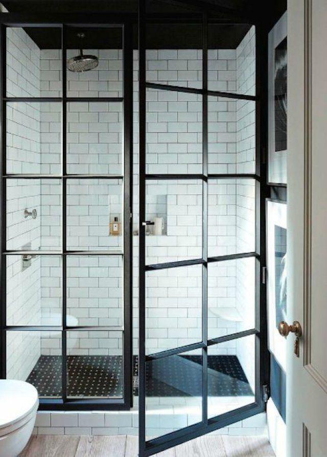 Porte Pour Douche Italienne Affordable Chambre Paroi Vitre Douche - Porte vitrée douche