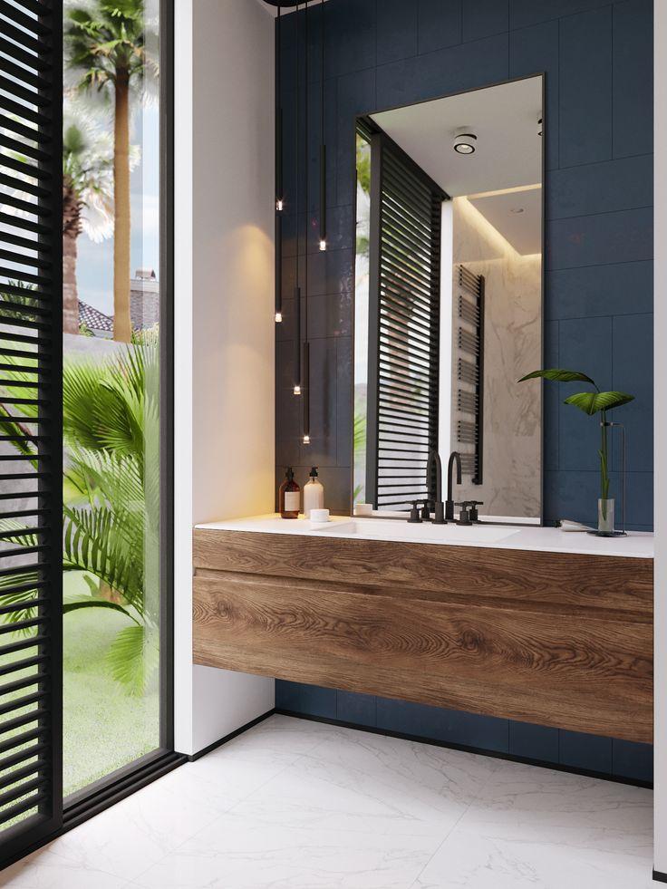 Id e d coration salle de bain pour salle d eau de notre - Idee deco salle ...