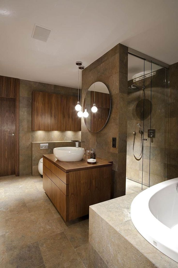 id e d coration salle de bain salle bain moderne revetement mural pierre naturelle meubles. Black Bedroom Furniture Sets. Home Design Ideas