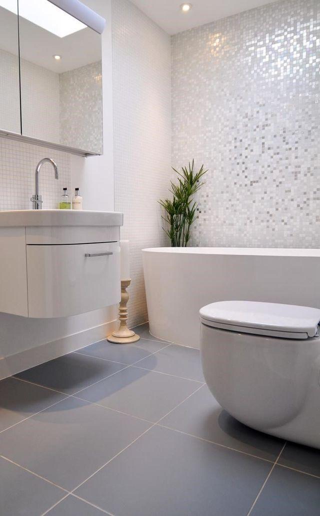 Id e d coration salle de bain salle de bains des for Idee salle de bain tendance