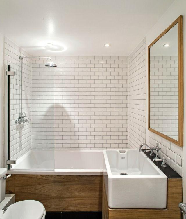 Idée décoration Salle de bain - une baignoire douche élégante et ...