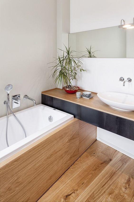 Idée décoration Salle de bain - Une petite salle de bain ...