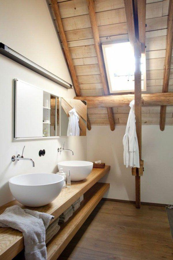 Id e d coration salle de bain une salle de bain de style for Idee renovation chambre