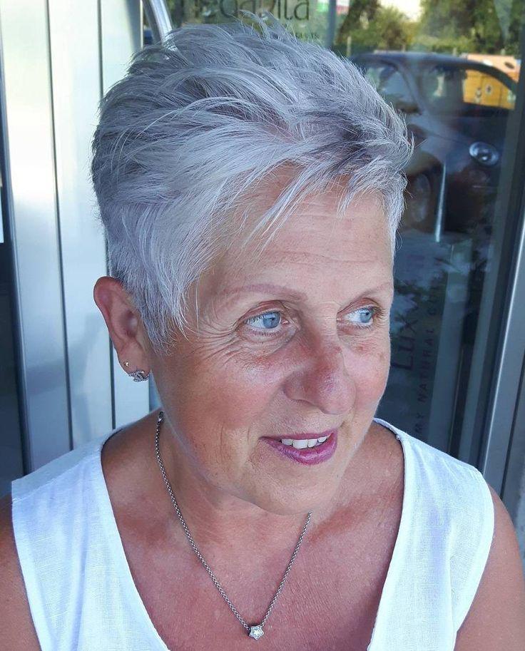 Modele De Coiffure Pour Femme Agee Coupes De Cheveux Pour Cheveux
