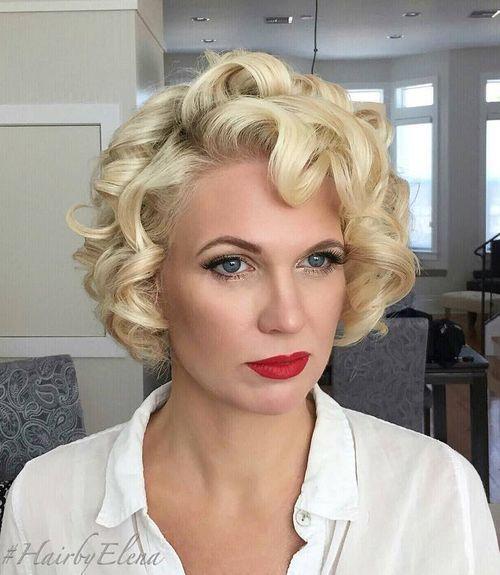 Id es coupe cheveux pour femme 2017 2018 50 coiffures et coupes de cheveux blonds courts les - Idees coupes courtes femmes ...