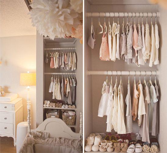 Un Petit Dressing Moderne Dans Une Chambre Bebe Listspirit Com