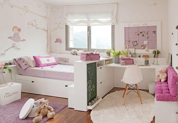 relooking et d coration 2017 2018 un r ve de petite fille savoir combiner dans un petit lieu. Black Bedroom Furniture Sets. Home Design Ideas