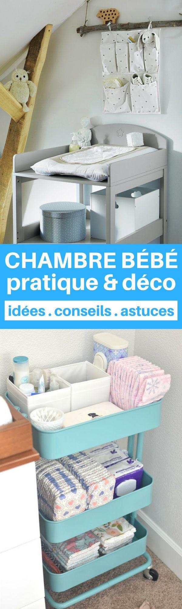 relooking et d coration 2017 2018 une chambre b b la fois pratique et d co c 39 est. Black Bedroom Furniture Sets. Home Design Ideas