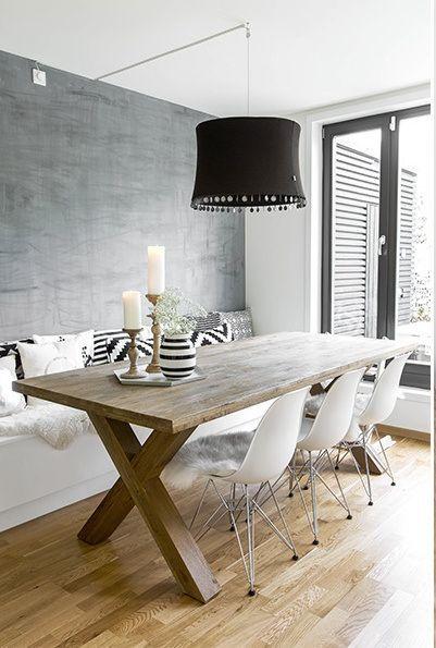 salle manger bois des id es rustiques pour une maison chaleureuse. Black Bedroom Furniture Sets. Home Design Ideas