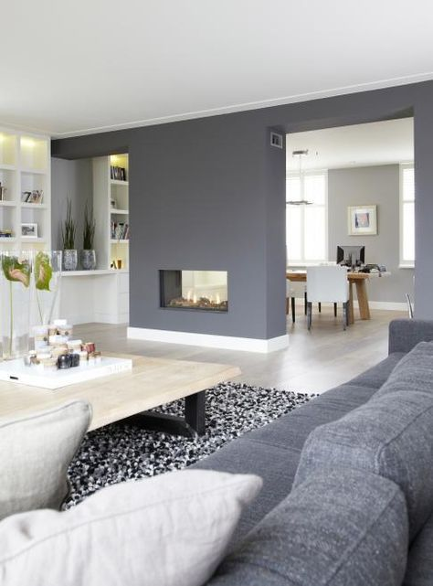 salle manger d coration int rieure dans les tons de gris et de blanc. Black Bedroom Furniture Sets. Home Design Ideas