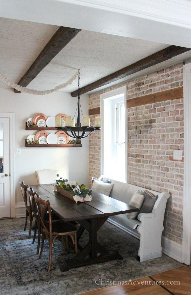 Description Farmhouse Dining Room