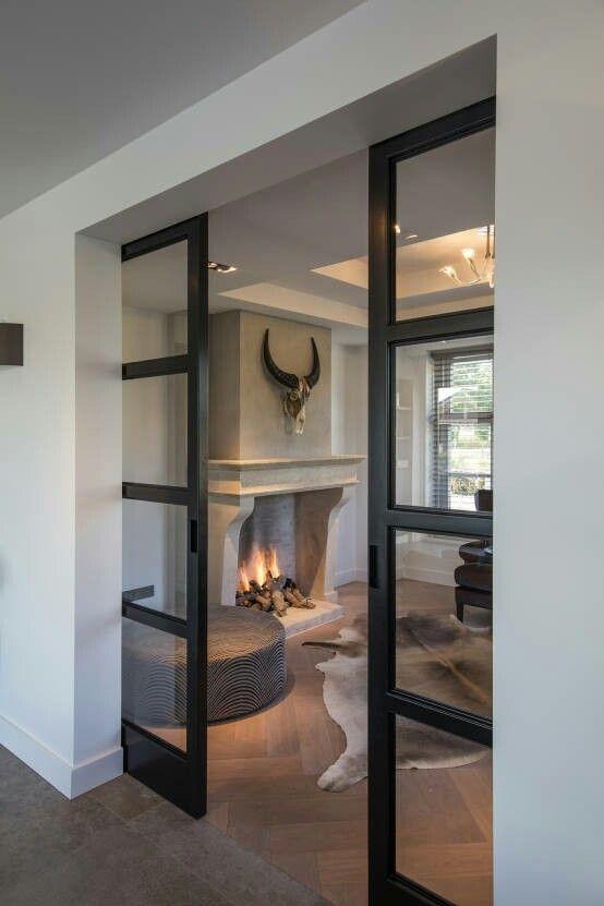 salle manger portes coulissantes vitr es verriere leading inspiration. Black Bedroom Furniture Sets. Home Design Ideas