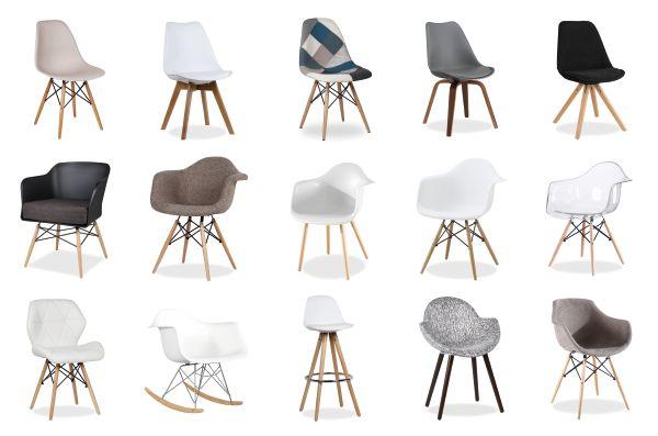 salle manger s lection de chaises scandinaves pas ch res chez superstudio. Black Bedroom Furniture Sets. Home Design Ideas