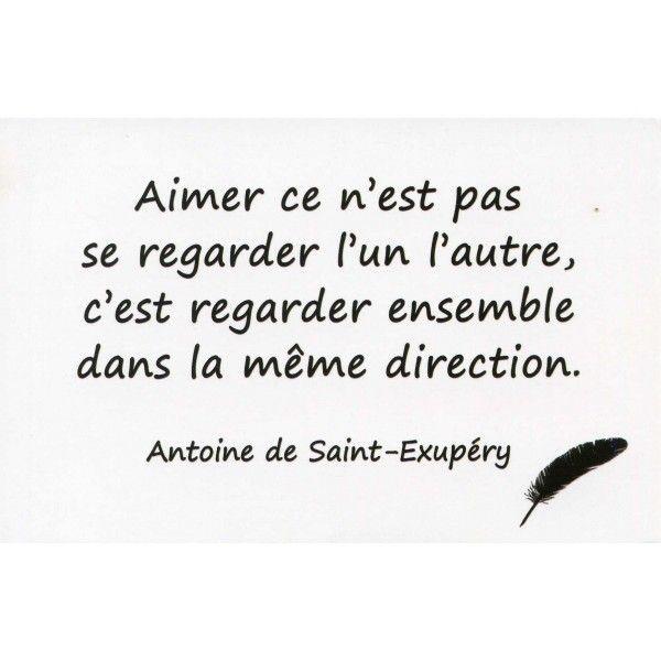 Citation Pour Le Saint Valentin Antoine De Saint Exupéry