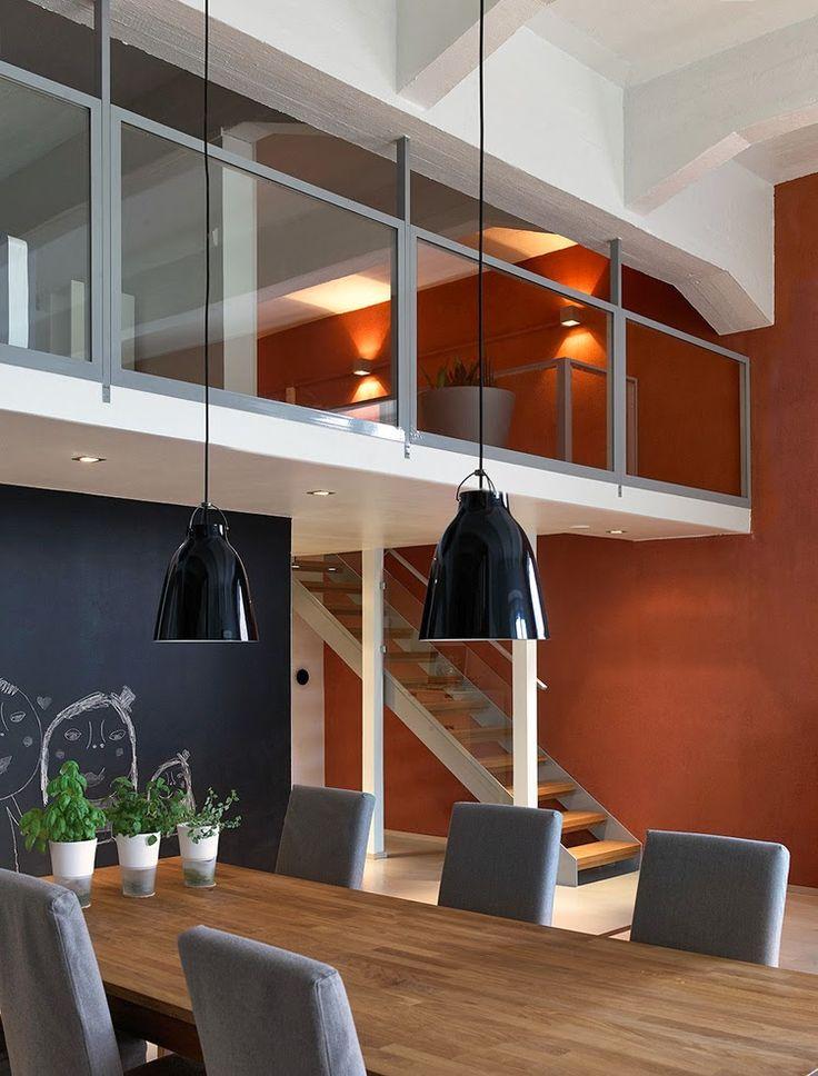 d co salon d couvrir l 39 endroit du d cor mur brun rouille leading. Black Bedroom Furniture Sets. Home Design Ideas
