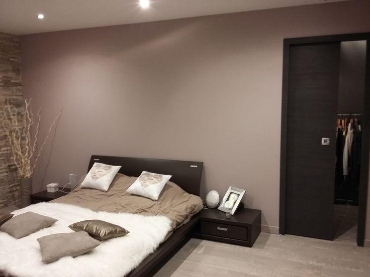 Déco Salon - idée déco chambre beige et marron - 2 ...