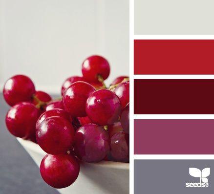 D co salon palette rouge et gris leading inspiration culture lifestyle - Deco salon rouge et gris ...