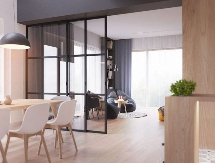 d co salon verriere cuisine salle manger aux murs. Black Bedroom Furniture Sets. Home Design Ideas