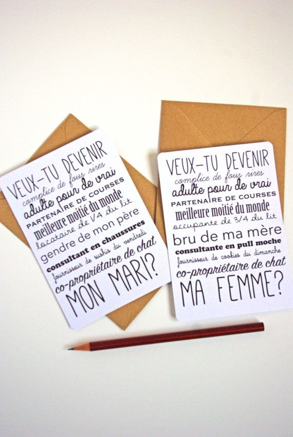 diy saint valentin carte postale demande en mariage homme femme par godsavetheteatime. Black Bedroom Furniture Sets. Home Design Ideas