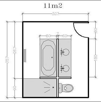 id e d coration salle de bain a chaque salle de bains son plan voici des id es de plans. Black Bedroom Furniture Sets. Home Design Ideas