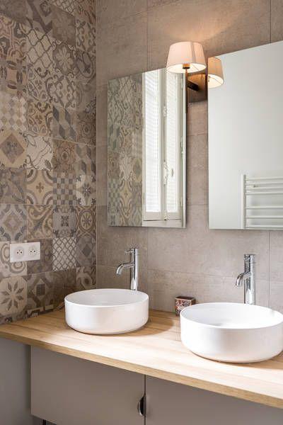 Id e d coration salle de bain miniature r novation d 39 un appartement boulevard exelmans paris - Idee renovation salle de bain ...