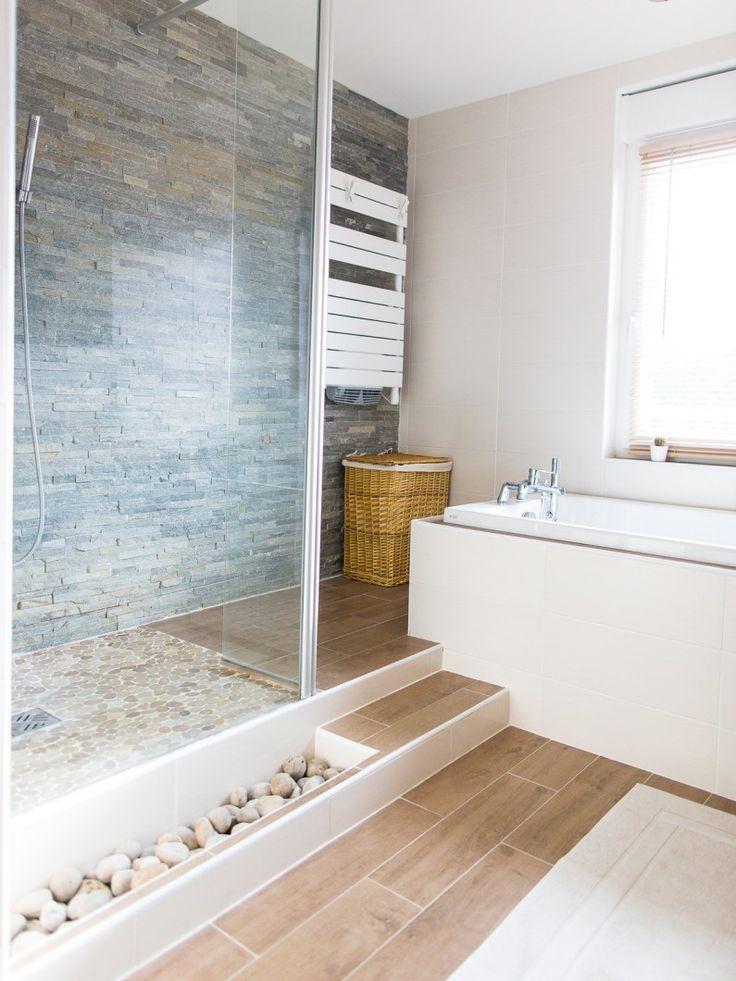 id e d coration salle de bain salles de bains styles et tendances ambiance min rale. Black Bedroom Furniture Sets. Home Design Ideas