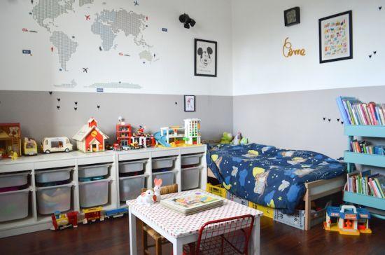 relooking et d coration 2017 2018 aime les rangements pratiques la couleur en deux parties. Black Bedroom Furniture Sets. Home Design Ideas