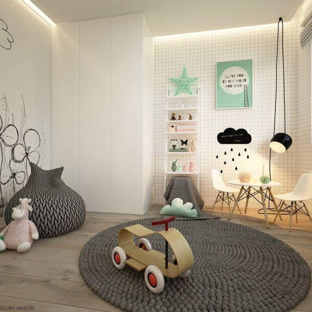 Relooking et d coration 2017 2018 chambre d 39 enfant moderne par elementy pracownia - Chambre d enfant moderne ...