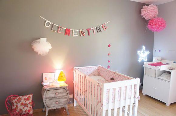 Relooking et décoration 2017 / 2018 - La chambre bébé de Clémentine ...
