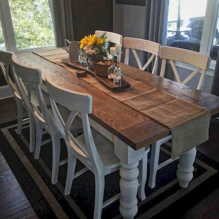 Description 50 Modern Farmhouse Dining Room Decor Ideas