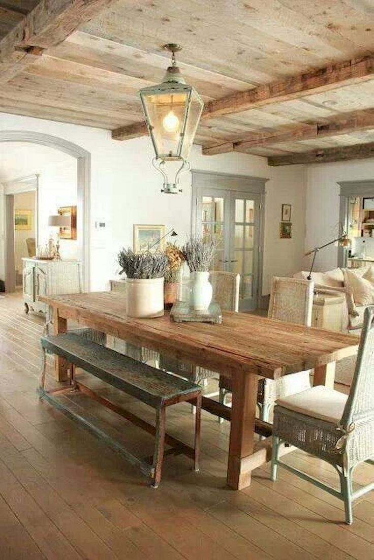 Description Fancy French Country Dining Room Table Decor Ideas