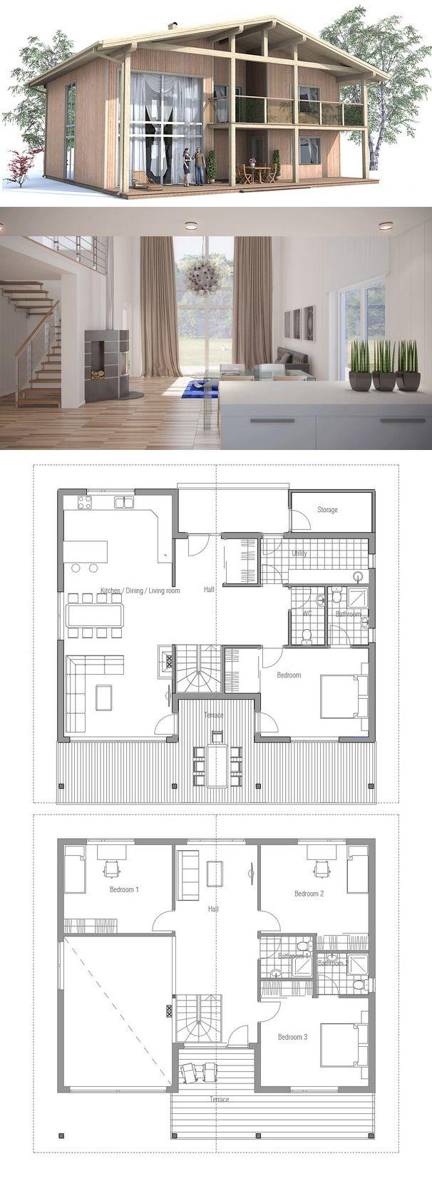description plan de petite maison