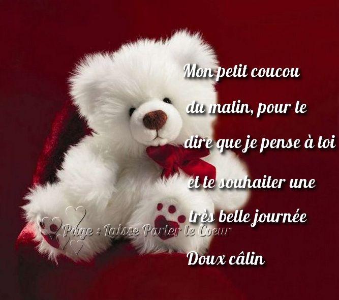 Citation Mon Petit Coucou Du Matin Pour Le Dire Que Je