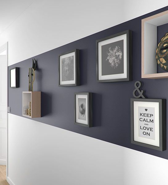 d co salon galerie personnelle exposer les objets que l 39 on aime fa on mus e personnel. Black Bedroom Furniture Sets. Home Design Ideas