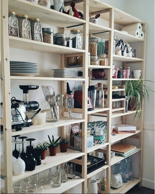 d co salon ikea 39 ivar 39 shelf lililou04 via ikea france diy organization kitchen. Black Bedroom Furniture Sets. Home Design Ideas