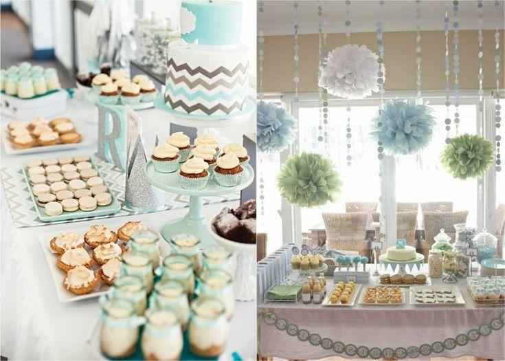 d coration de bapteme pour fille en tons bleu vert pastel ideas decoration listspirit. Black Bedroom Furniture Sets. Home Design Ideas