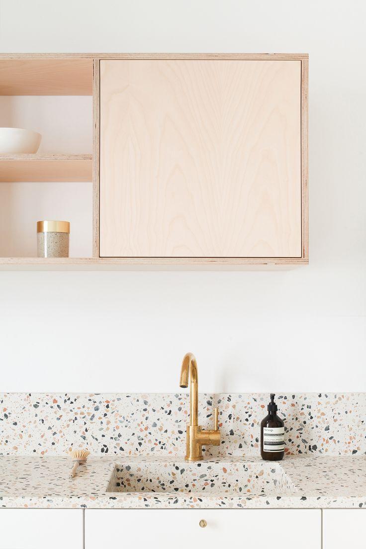 Salle De Bain Blanc Gris Et Noir ~ Id E D Coration Salle De Bain Archi Renovation Cuisine Terrazzo