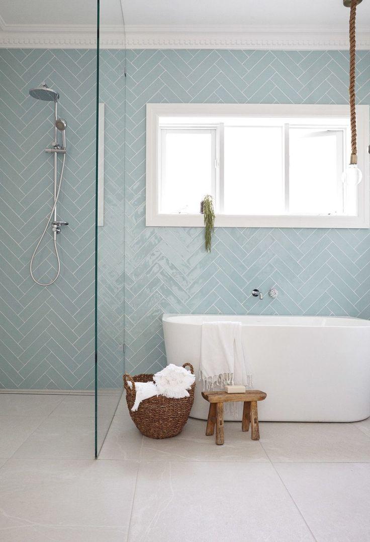 Miroir Salle De Bain Brico Depot ~ Id E D Coration Salle De Bain Back To Wall Bath Beside Shower