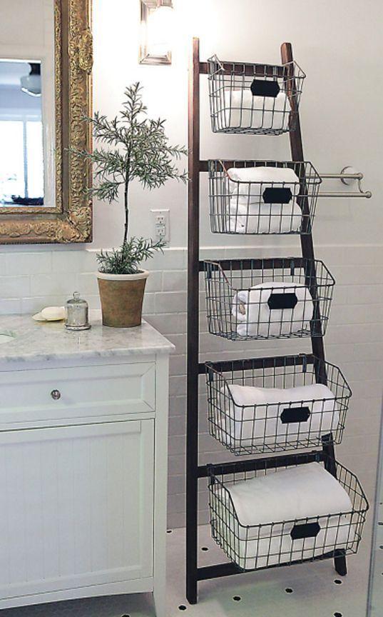Idée décoration Salle de bain - DIY : Créez des meubles de ...